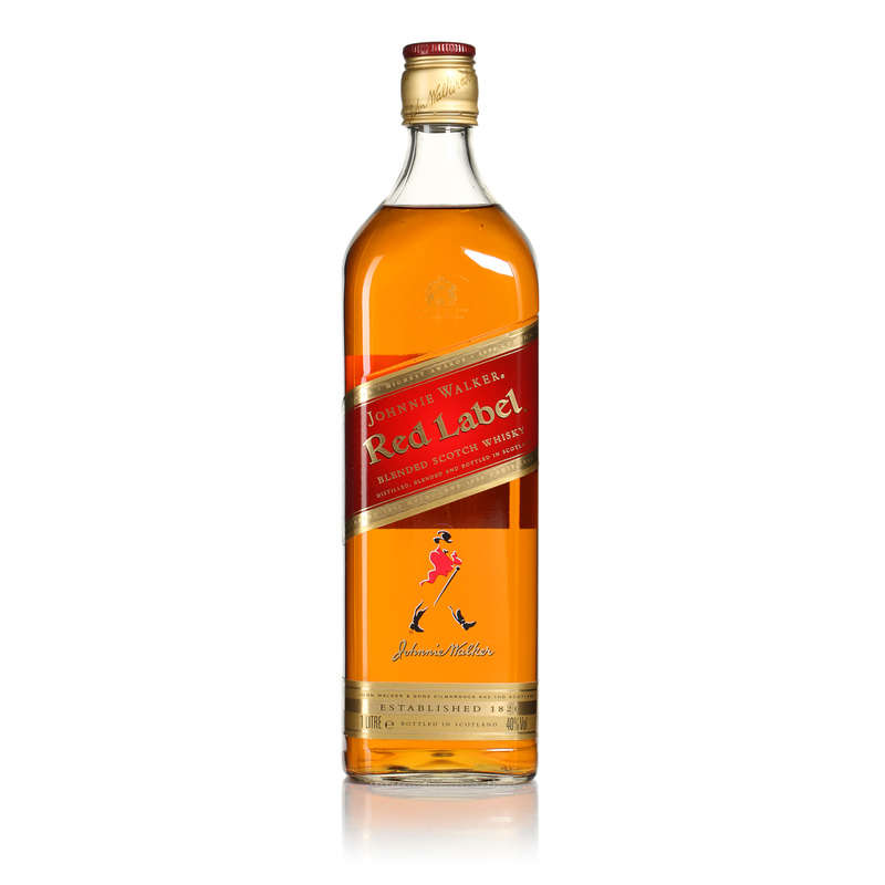Red label - Blended scotch whisky - Alc. 40% vol.