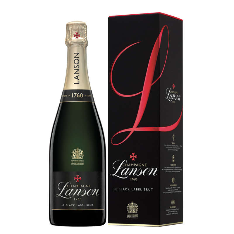 1760 - Champagne black label brut - Alcool 12,5 % vol.