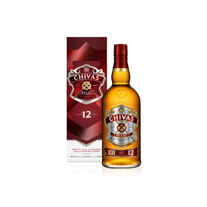 Whisky 12 ans - Alcool 40 % vol.