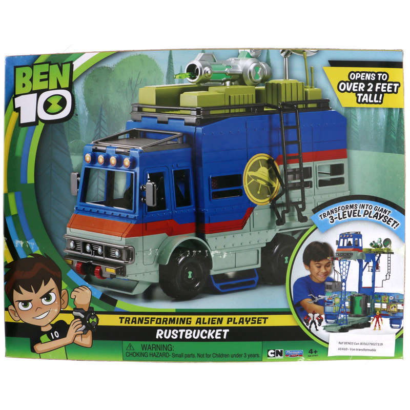 Van transformable - Ben 10 - Rustbucket
