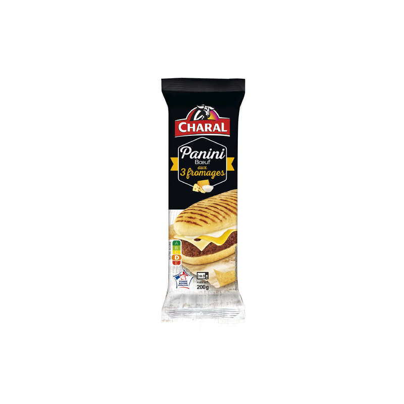 Panini aux 3 fromages