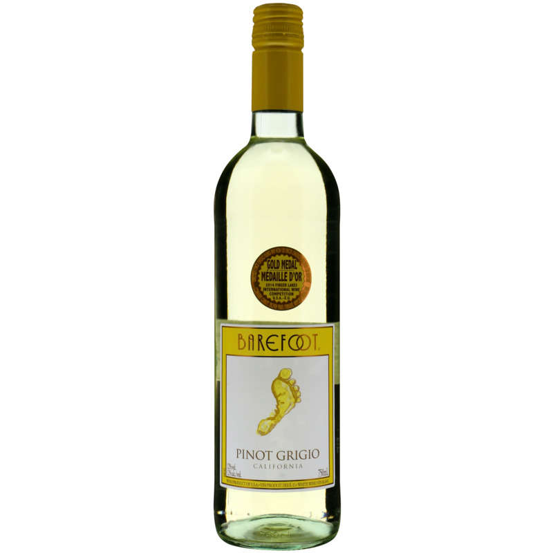 CALIF.BAREFOOT PGRIGIO BL 75CL