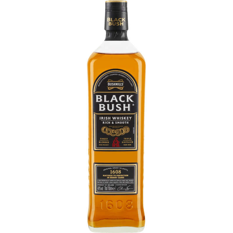 Black Bush - Irish Whiskey - 40%
