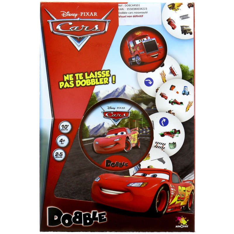 Dobble cars - Jeu de cartes