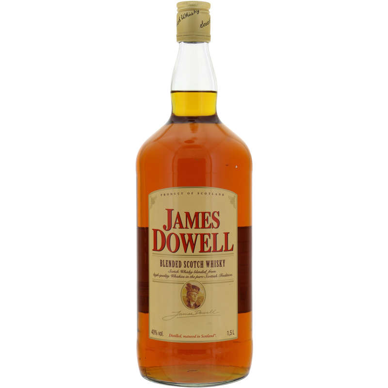 Scotch whisky James Dowell 40%