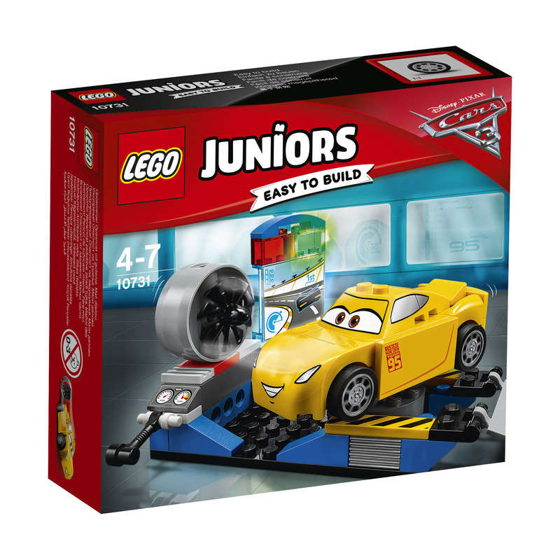 Juniors Easy to Build - CARS - Le simulateur de course de Cruz Ramirez