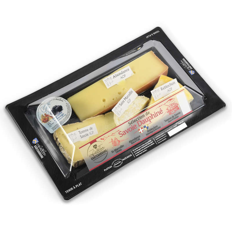 Assortiment Fromages Savoie Dauphiné - 33%  mg