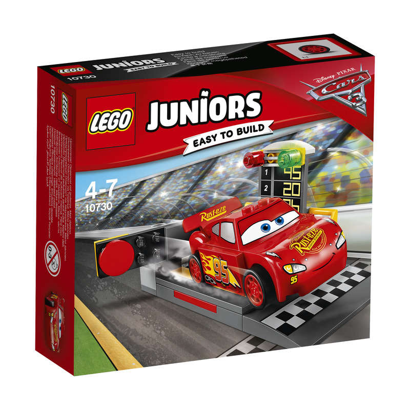 Juniors Easy to Build - CARS - Le propulseur de Flash Mc Queen