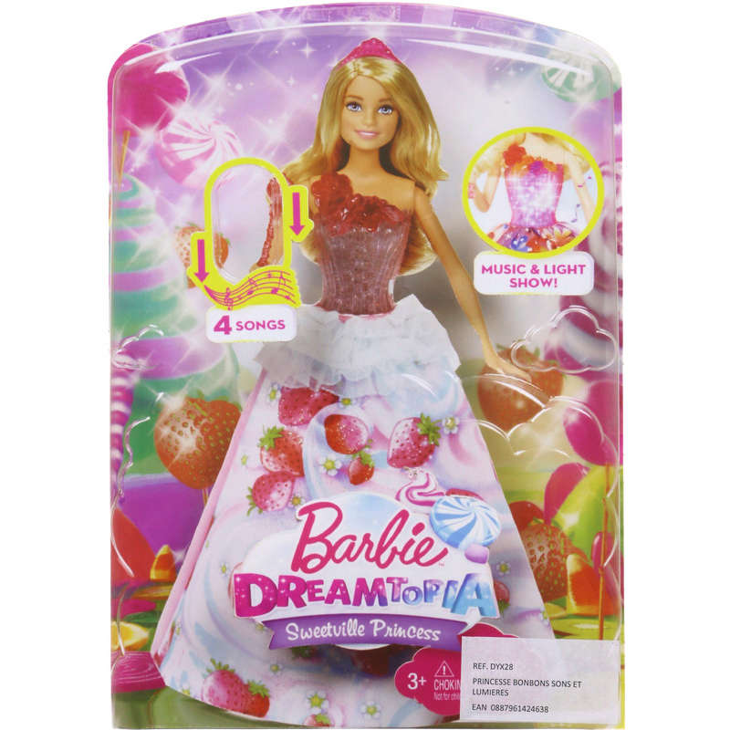 Barbie Dreamtopia - Sweetville princess - Dès 3 ans