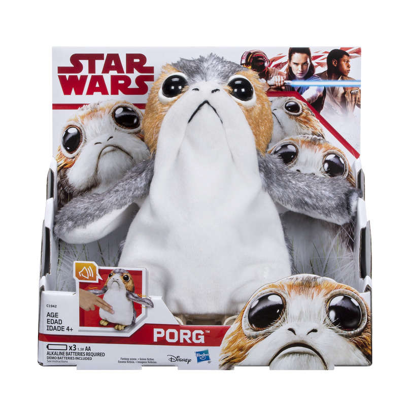 Star wars 8 - Porg - Peluche interactive