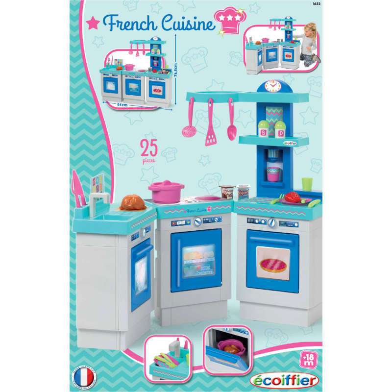 French cuisine 3 modules