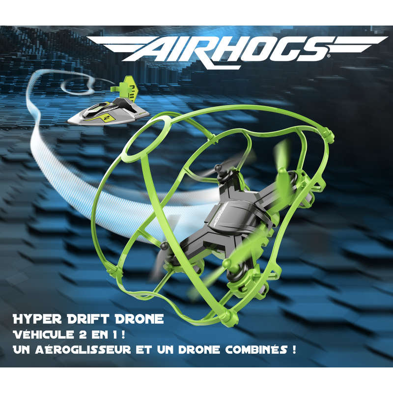 Hyper drift drone air hogs