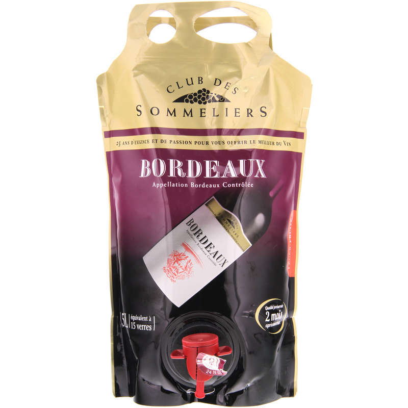 Bordeaux - Vin rouge - Bag