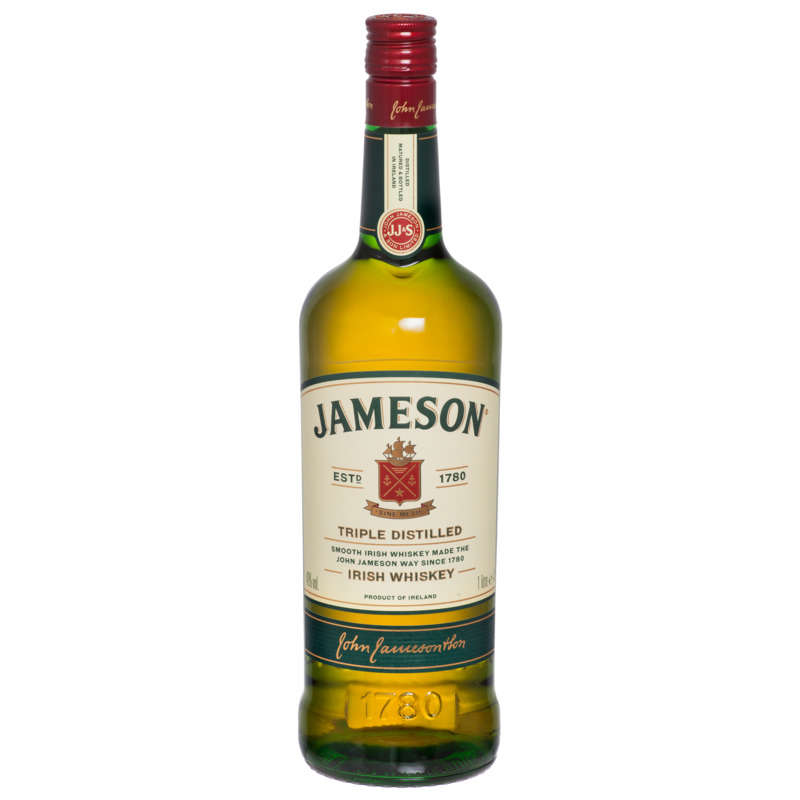Irish whiskey 40%