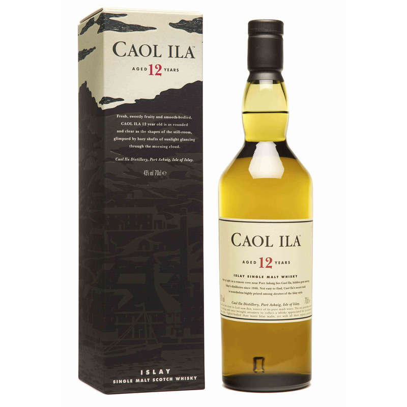 Scotch Whisky CAOL ILA 12 ans 43% vol.