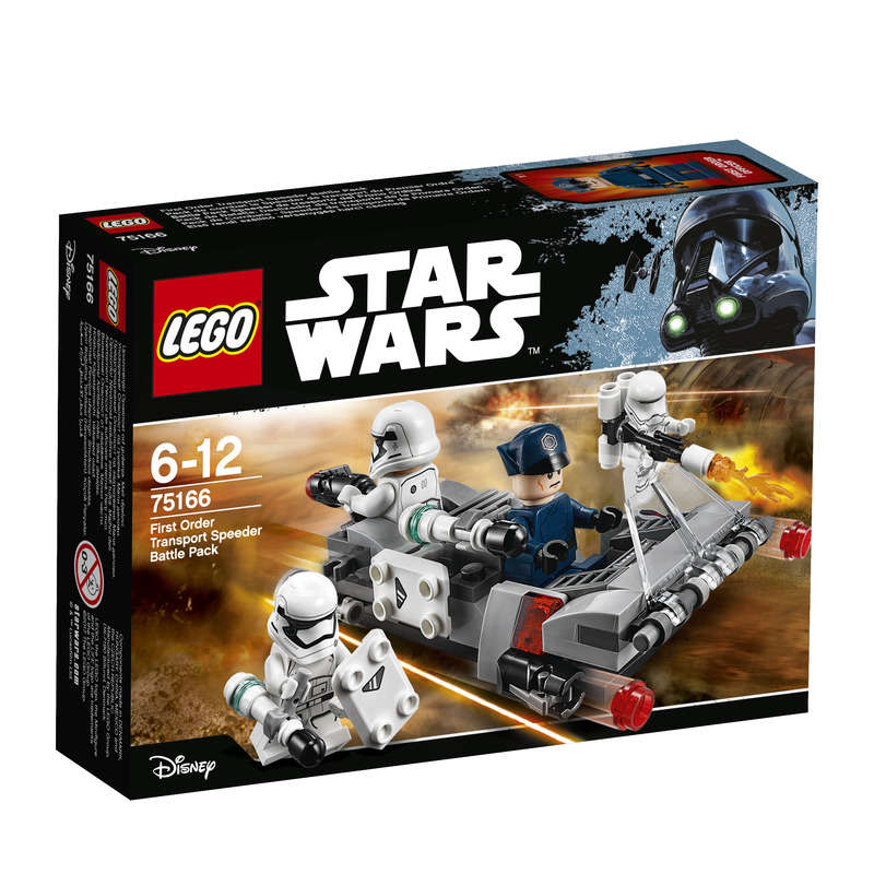 Star Wars - Speeder de transport du Premier Ordre - Pack de combat